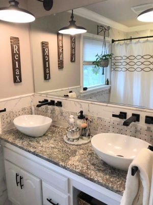 Dual Vessel Sinks & Custom Restored Double Vanity – DLG Enterprises Inc.