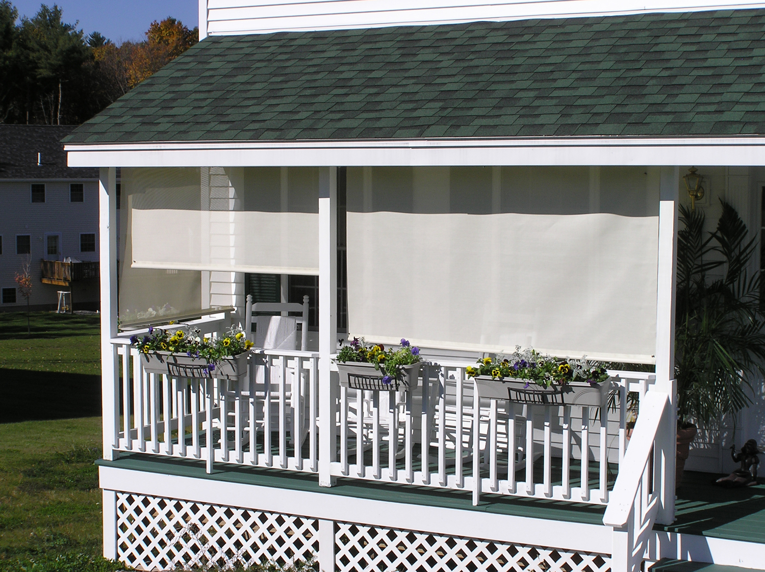 Awning Fabric & Shade Colors