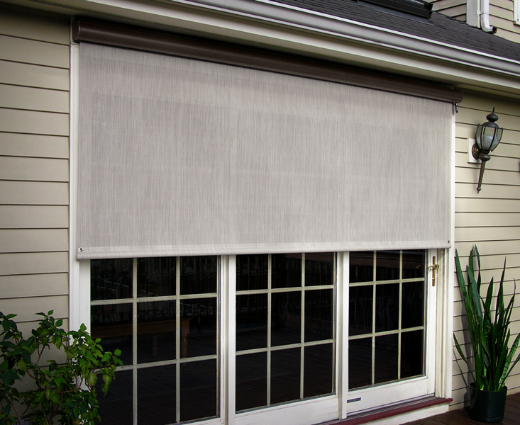 SunSetter EasyShades – Desert Sand Screen Sample